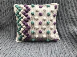 Zigzag Bobble Pillow