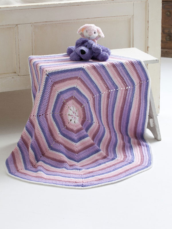 Crochet Patterns Galore Octagon Baby Blanket