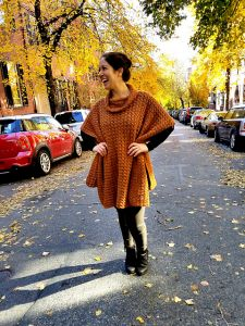 Beacon Street Poncho