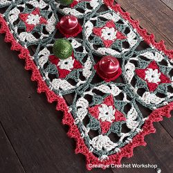 Yuletide Star Table Runner