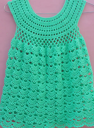 Lace Crochet Dress Pattern | 500x370