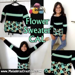 Crochet Flower Sweater CAL
