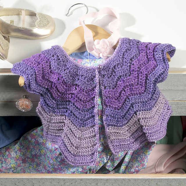 1d5d53261 Crochet Patterns Galore - Vintage Baby Cardigan