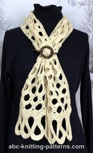 Honeycomb Scarf