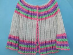 Stylish Crochet Woman Sweater