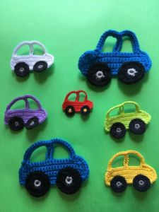 Easy Crochet Car Applique