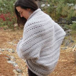 First Snow Cocoon Cardigan