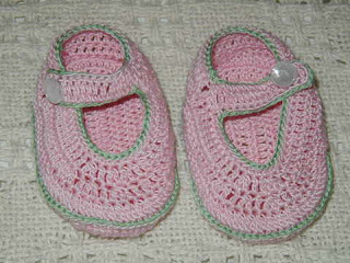 Crochet Patterns Galore Baby Mary Jane Booties