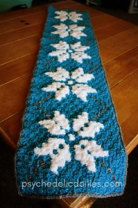 Winter Table Runner