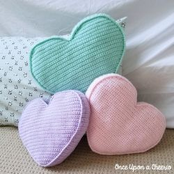 Candy Heart Pillows