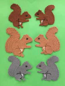 Squirrel Applique