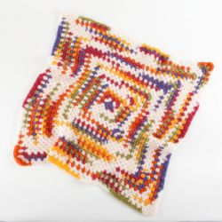 Bright Granny Throw