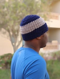 Two Tone Beanie for Men