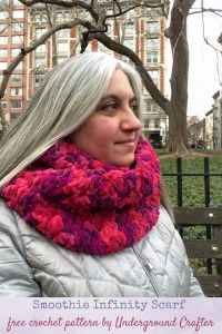 Smoothie Infinity Scarf