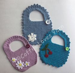 Sugar and Spice Baby Bib
