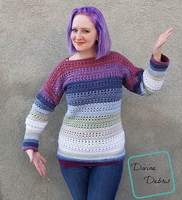 a016d597e855ea A free crochet pattern using bulky-weight yarn. Pattern attributes and  techniques include  Stripes