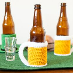 Beer Mug Bottle Cozy