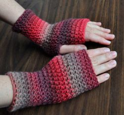 Everyday Fingerless Gloves