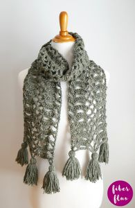 Bells of Ireland Scarf