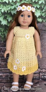 Daisy Sundress for 18-inch Dolls