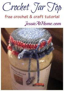 Crochet Jar Top