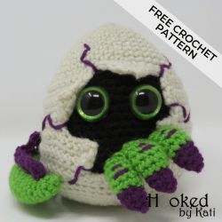 Hatching Dragon Egg Amigurumi