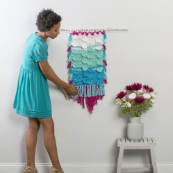 Disc and Puff Wall Hanging