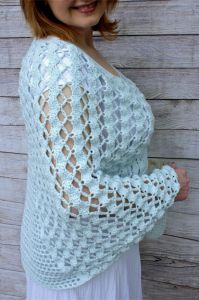 Whimsical Waves Poncho