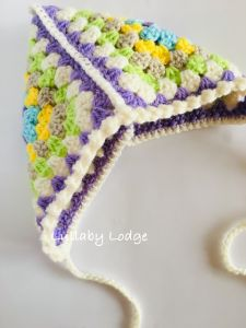 Easter Blanket and Bonnet
