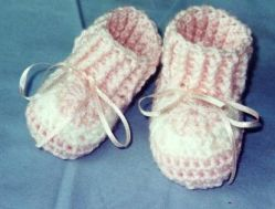 Granny's  Love  Baby  Booties
