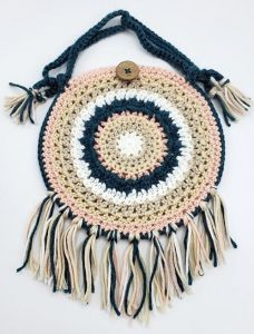 Crochet Boho Crossbody Purse