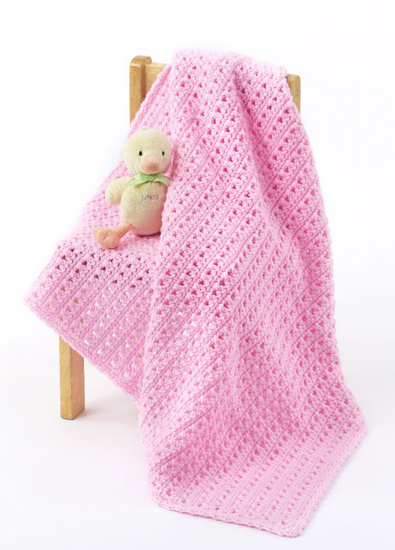 Crochet Patterns Galore - One Skein Baby Blanket