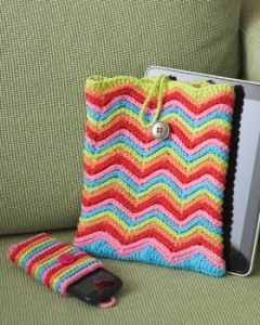 Rainbow Stripes Tablet or Phone Case