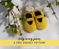 Mary Jane Baby Daffodil Shoes