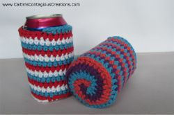 Spiral Can Cozy