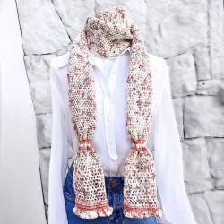 Candied Skinny Scarf