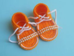 Diy Crochet Baby Flap Sandals