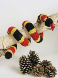 Coral Snake Toy