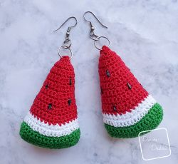 Wonderful Watermelon Earrings