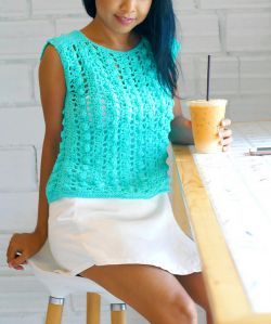 Bobble Stitch Top