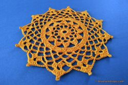 Cute Flower Doily