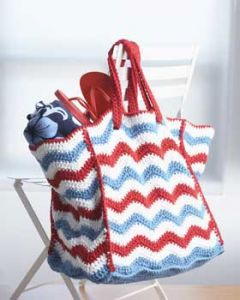 4th of July Beach Bag