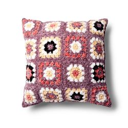 Pretty Granny Square Pillow