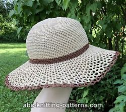 Walk in the Park Raffia Sun Hat