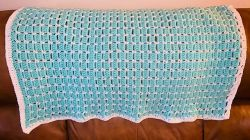 Block Stitch Baby Blanket
