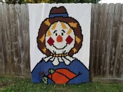 Scarecrow Afghan