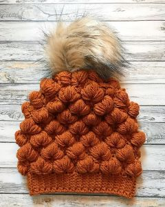 The Trident Puff Beanie