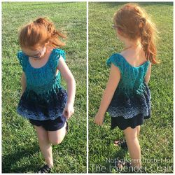 Gemstone Lace Flowy Top