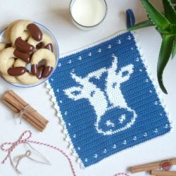 Cow Potholder