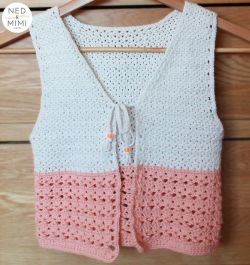 Peaches and Cream Girl's Vest